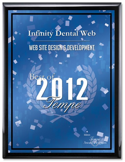 "Infinity Dental Web is 2012 ""Best of Tempe"" Recipient"