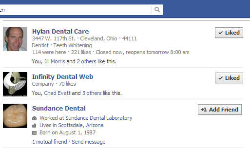 Use Facebook's search tool to find an unclaimed page.