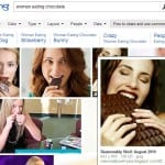 Bing image search by license