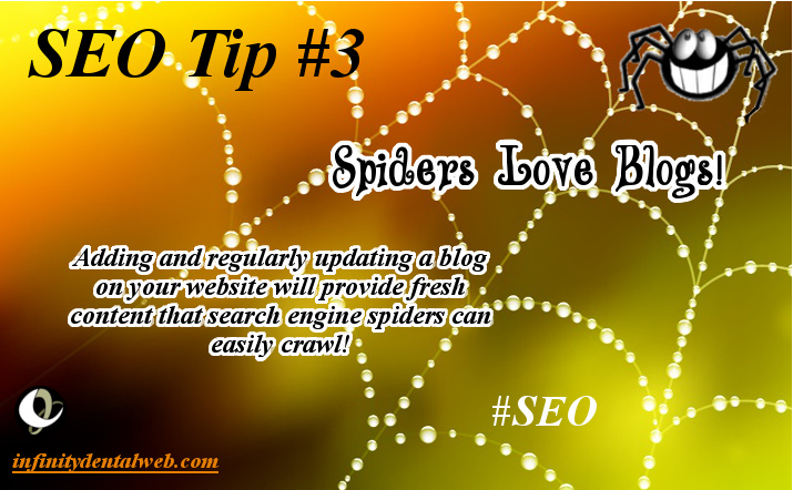 SEO Tips from Infinity Dental Web