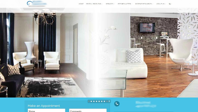 successful cosmetic dentistry website design