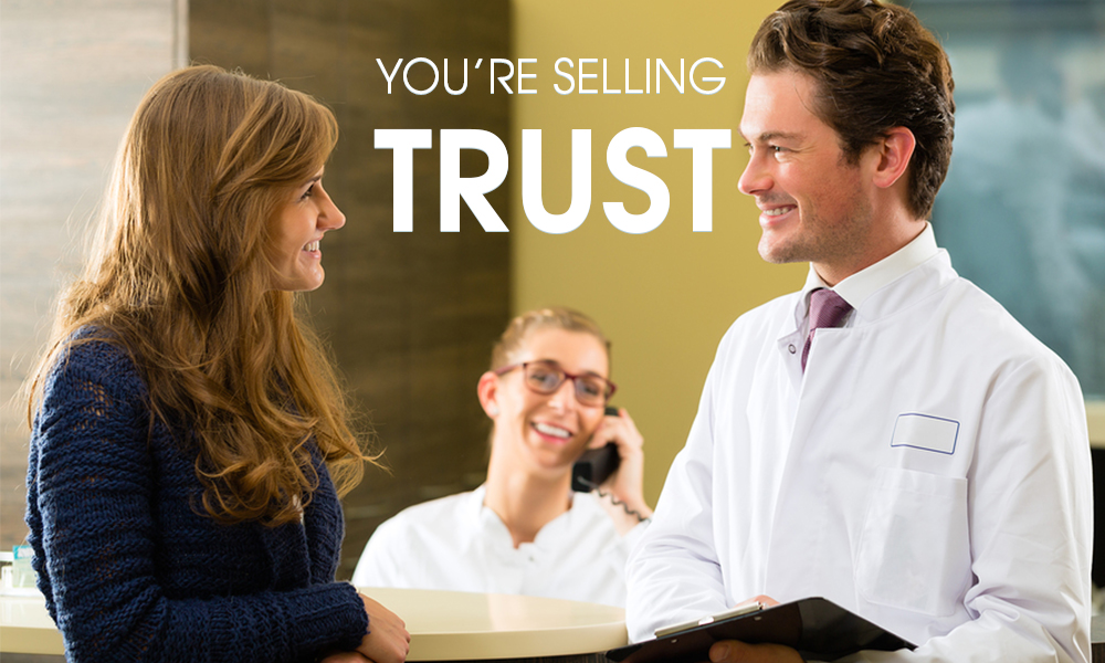 Youre Selling Trust