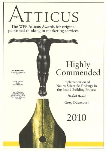 Michael Andre Atticus Award