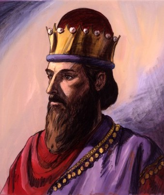 a drawing of King Solomon