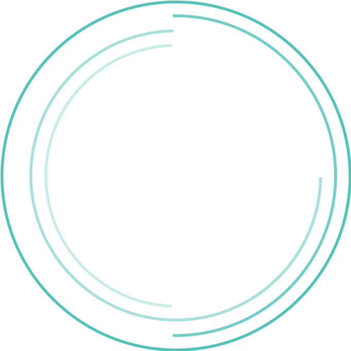 Concentric circle border