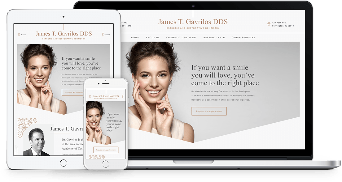 Infinity Dental Web Responsive Websites