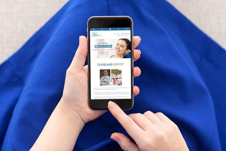 Hylan Dental Care custom website design