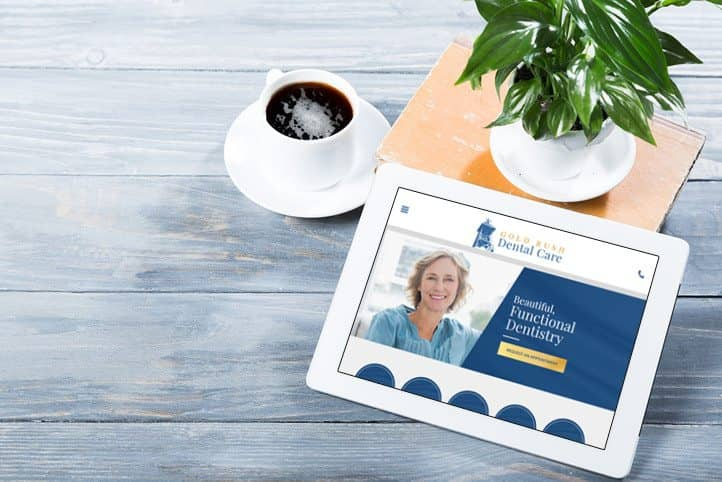 Gold Rush Dental Care essential website design
