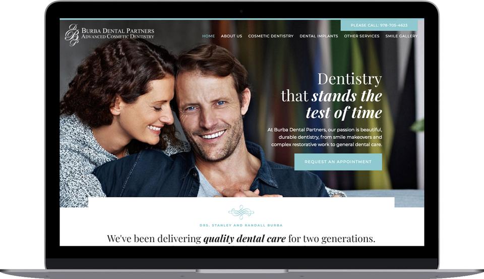 Burba Dental Partners Screenshot Image